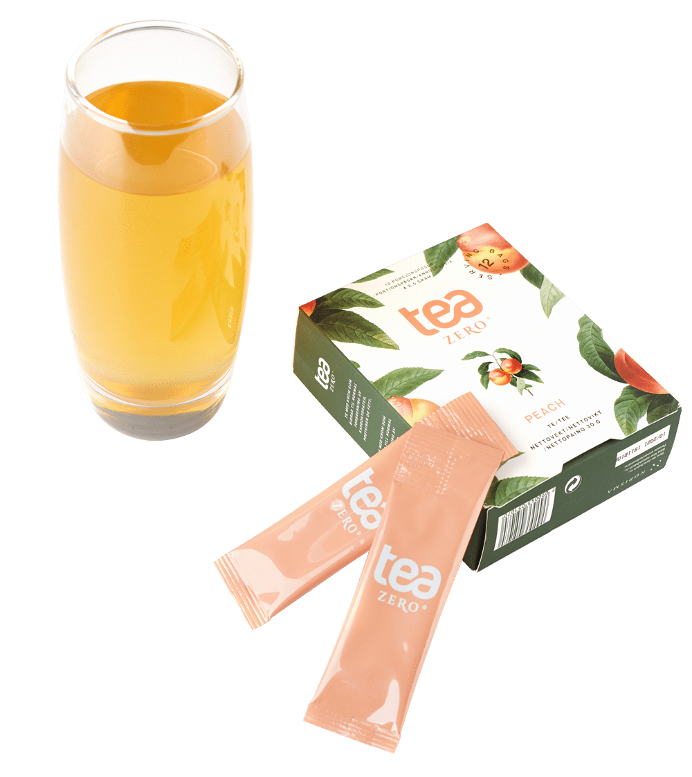 Tea Zero glass